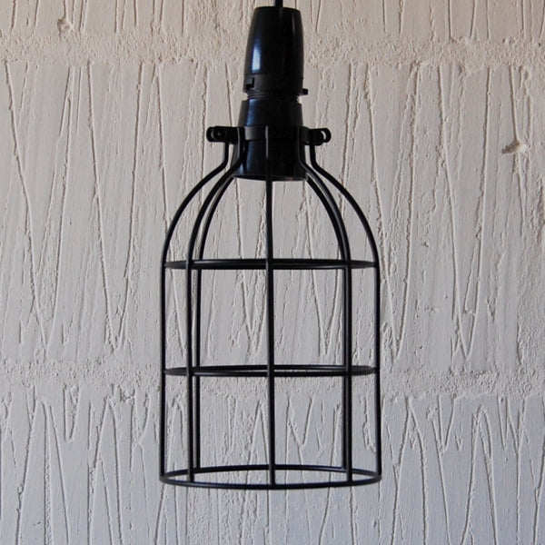 Locke Wire Industrial Cage Pendant Light - HomemakingHeaven  - 1