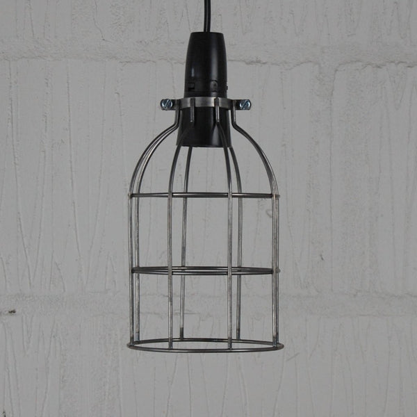 Locke Wire Industrial Cage Pendant Light - HomemakingHeaven  - 4