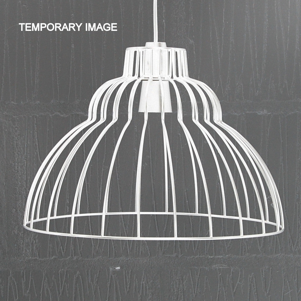 Brunel industrial chic wire metal lampshade light frame brunel vintage industrial light cage homemakingheaven 3 greentooth Images