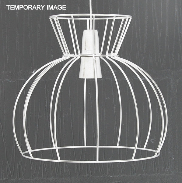 Watt Industrial Wire Cage Lamp - HomemakingHeaven  - 5