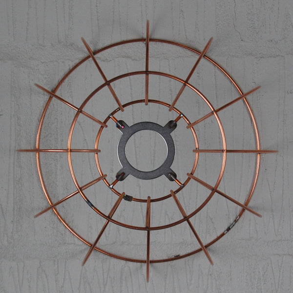 Watt Industrial Wire Cage Lamp - HomemakingHeaven  - 8
