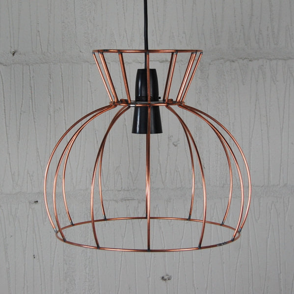 Watt Industrial Wire Cage Lamp - HomemakingHeaven  - 7