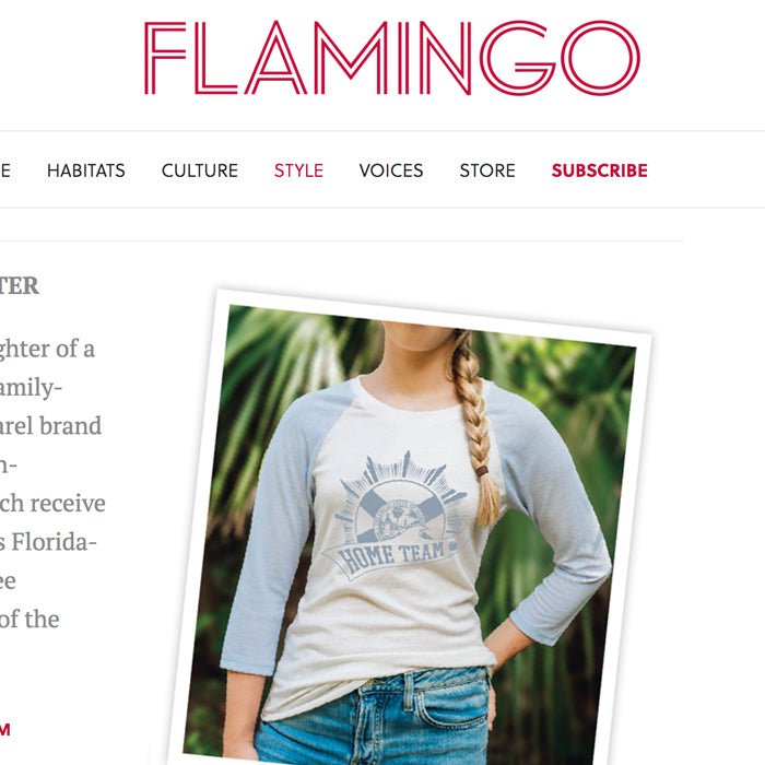 FLAMINGO MAGAZINE — HOMEGROWN PRODUCTS