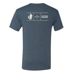 the admiral's daughters freedom eagle t shirt benefiting boot campaign us military charity back logos