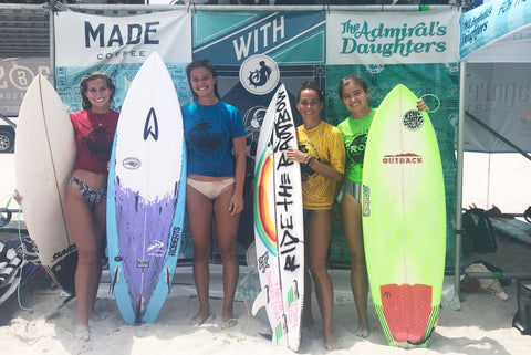the admirals daughters void live jacksonville beach pro am surf contest womens sponsor surf girls