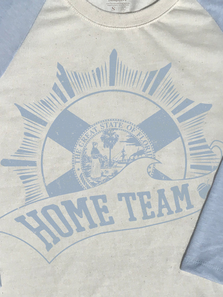 FLORIDA HOME TEAM BLUE & IVORY BASEBALL T-SHIRT