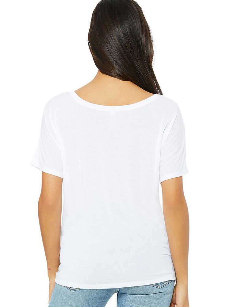 JAGS MERMAID WHITE FLOWY TEE