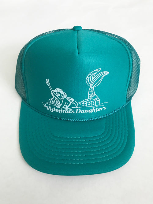 BEACH MERMAID SNAP BACK TRUCKER HAT