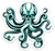 Kraken Octopus Sticker