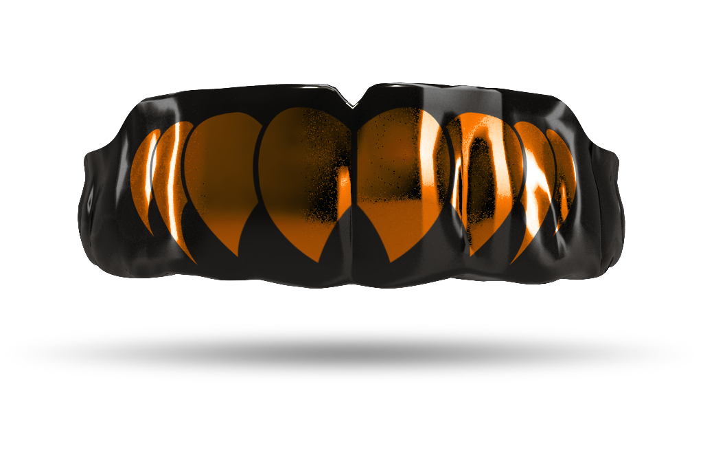 Chrome Burnt Orange Fangs (Black)