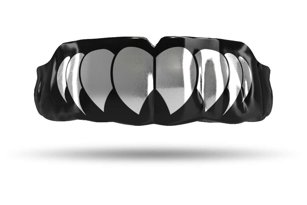 Chrome Silver Fangs (Black)