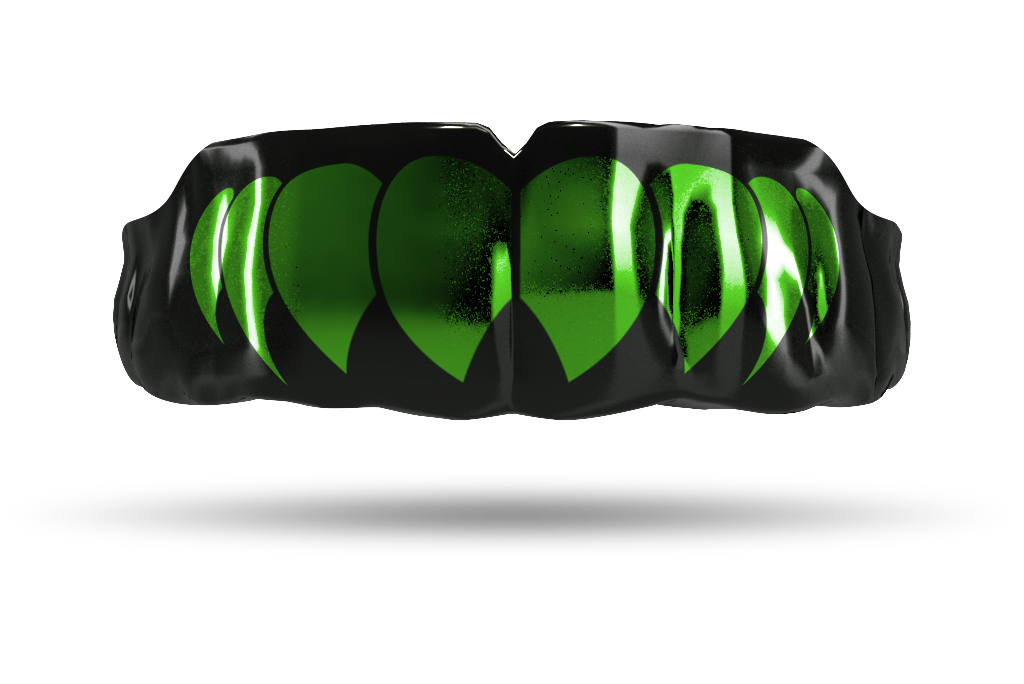 Chrome Emerald Green Fangs (Black)