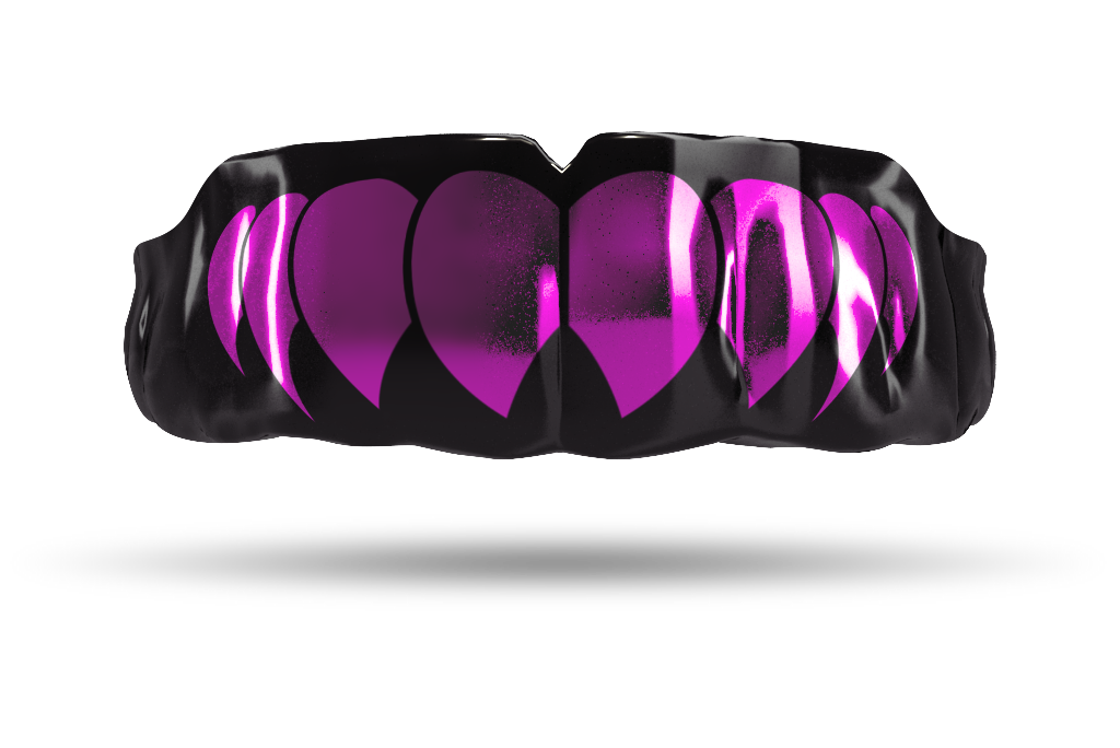 Chrome Fuchsia Fangs (Black)