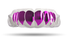 Chrome Fuchsia Fangs (Clear)