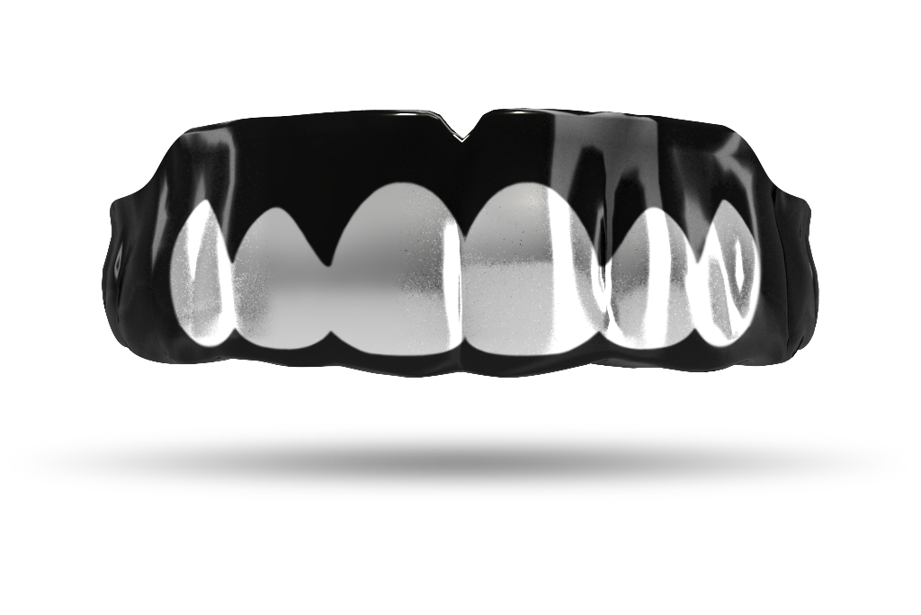 Chrome Silver Grill (Black)