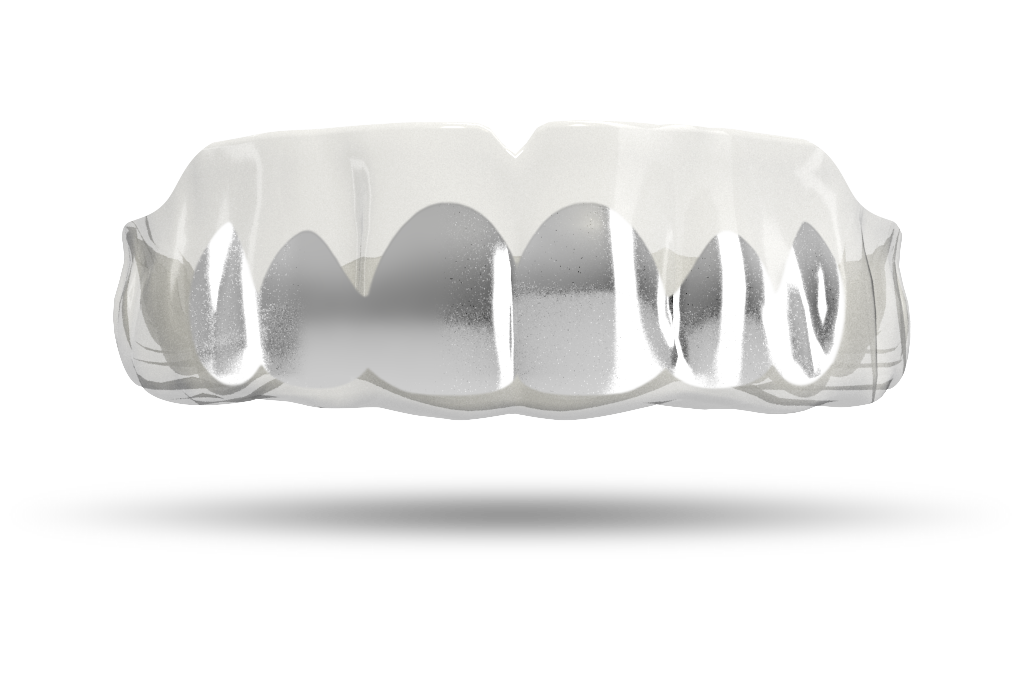 Chrome Silver Grill (Clear)