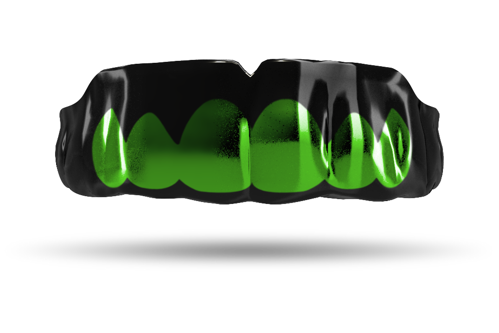 Chrome Emerald Green Grill (Black)