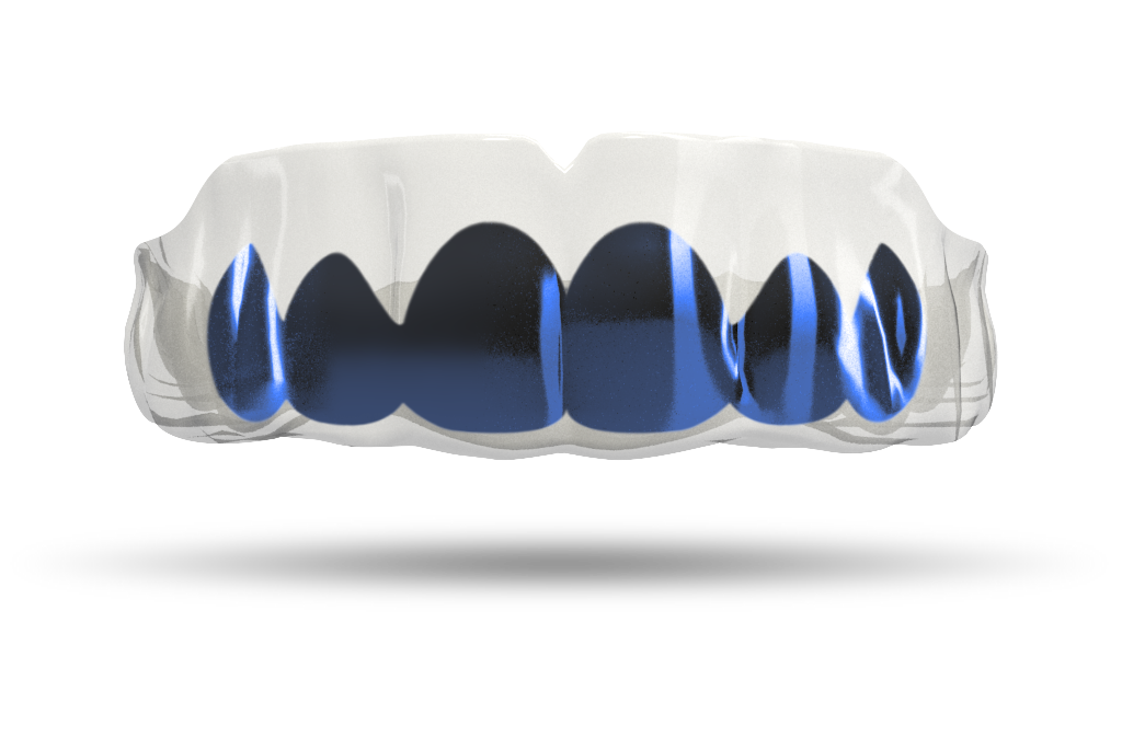 Chrome Midnight Blue Grill (Clear)