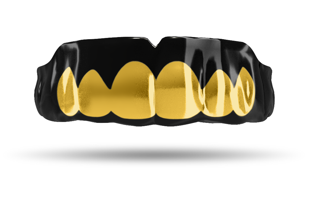 Chrome Gold Grill (Black)