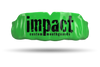 Impact Black Logo - Green