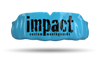 Impact Black Logo - Light Blue