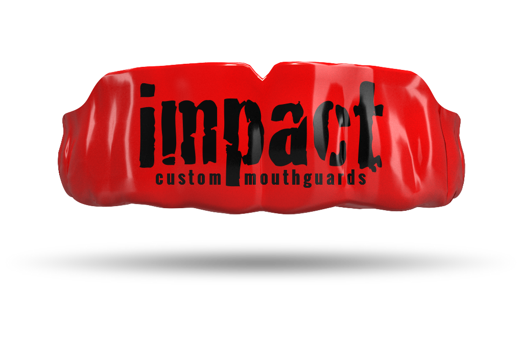 Impact Black Logo - Red