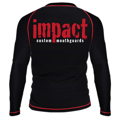 Impact Black Rash Guard