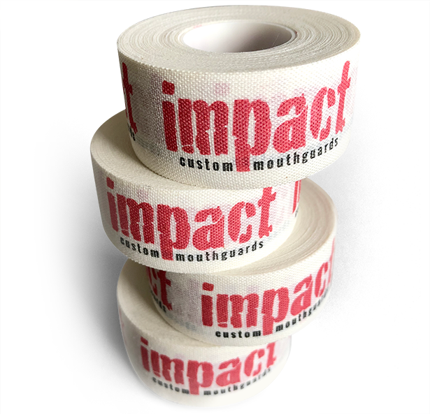 Impact Stay Stuck Athletic Tape For Boxing, Jiu-Jitsu, MMA, Cross-Fit, Martial Arts, Wrestling, Hockey, Rugby, Lacrosse and Power Lifting