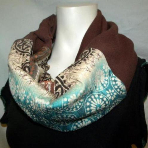 Electric Hippy Eternity Scarf