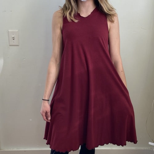 Matilda Dress in Ruby M/L ~ READY TO SHIP