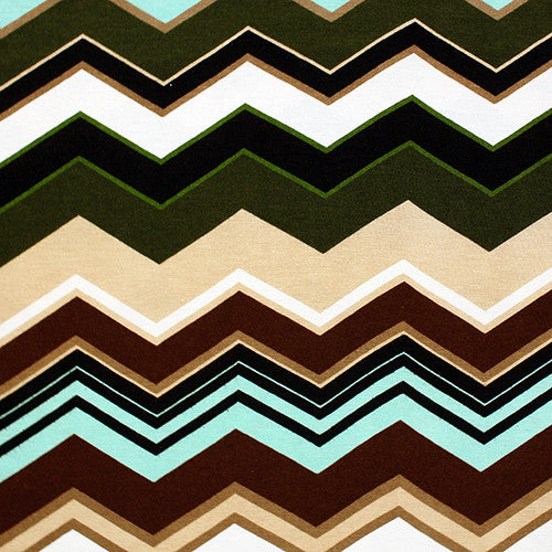 Earthy Chevron Head Hugger