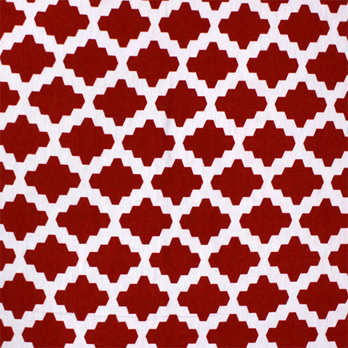Tiled in Red/White Head Hugger