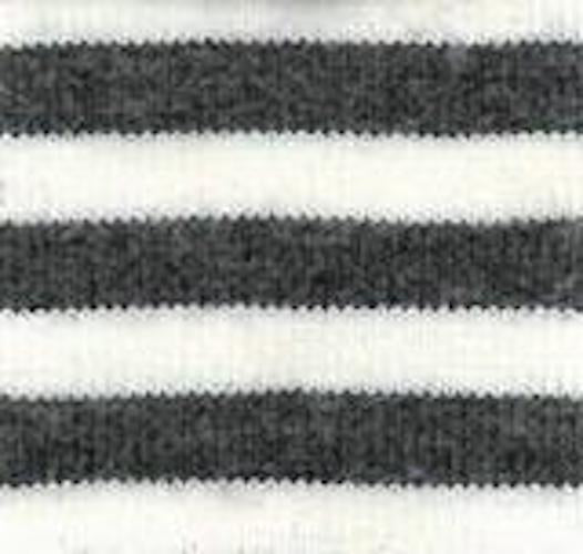 Charcoal Stripe Organic XL Head Hugger