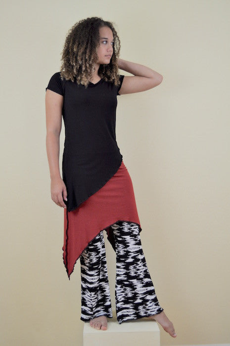 Crescent Skirt in Brick - M/L