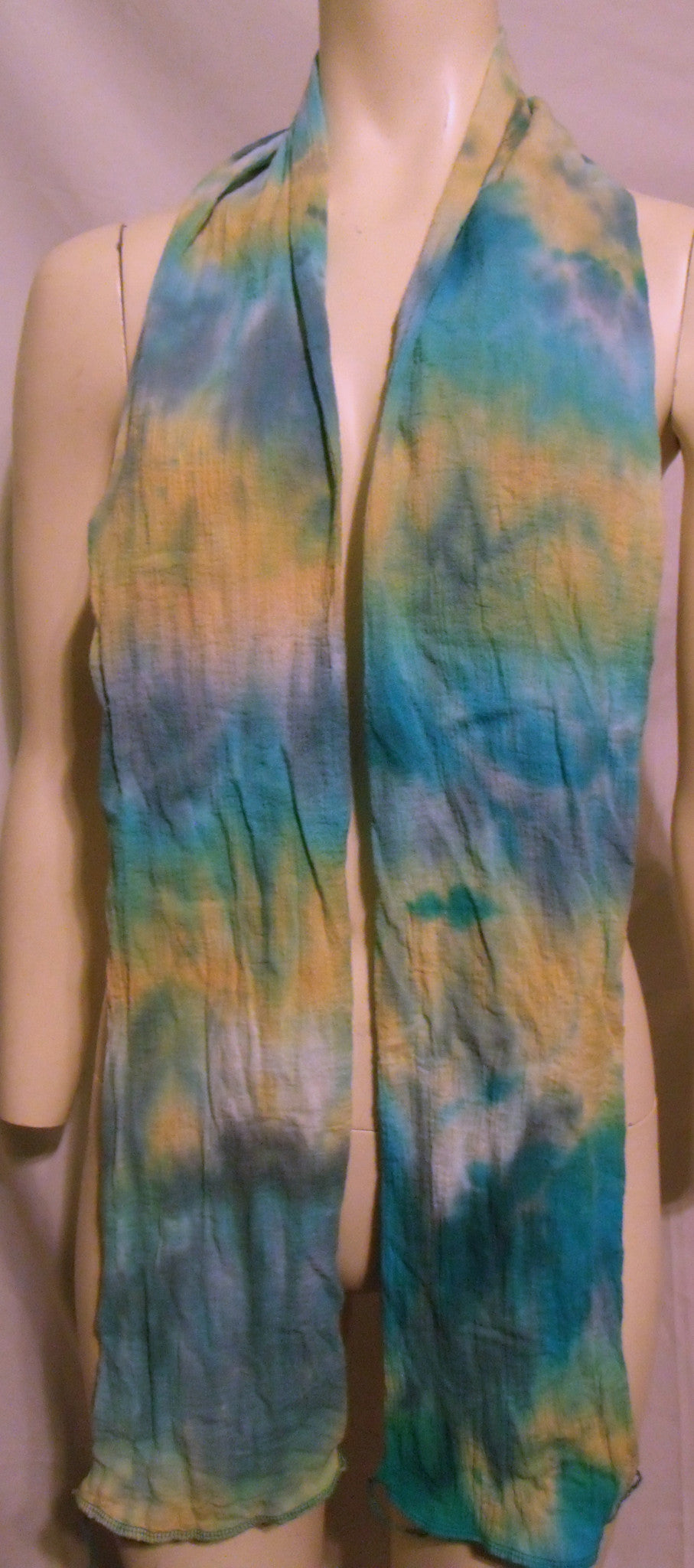Custom Dyed Goddess or MAN Hair Wrap