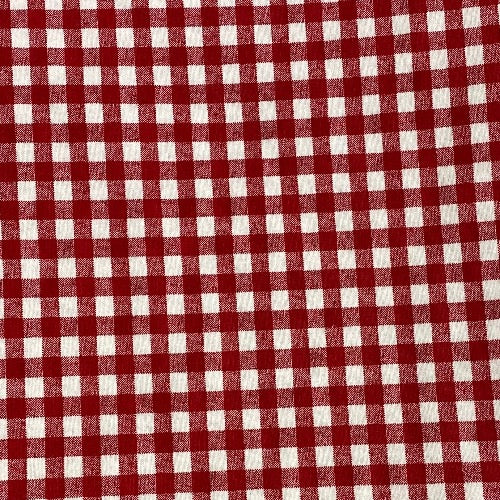 Face Mask in Red/White Lumberjack