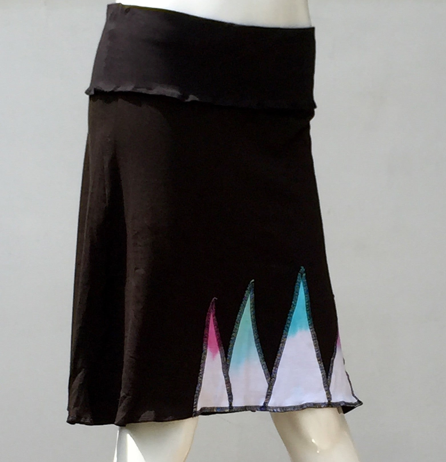 Mountain Skirt - Black/Multi