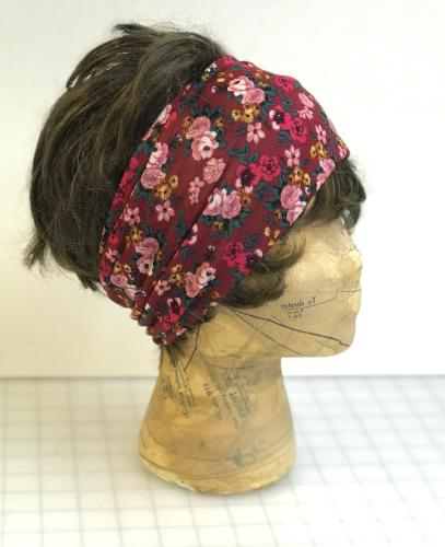Burgundy Rose Head Hugger