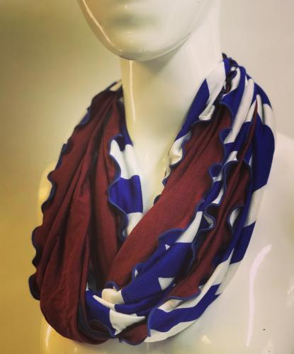 Desert Stripe Eternity Scarf