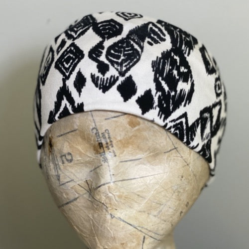 Abstract Ikat Head Hugger