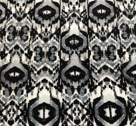 Grey Ikat Head Hugger