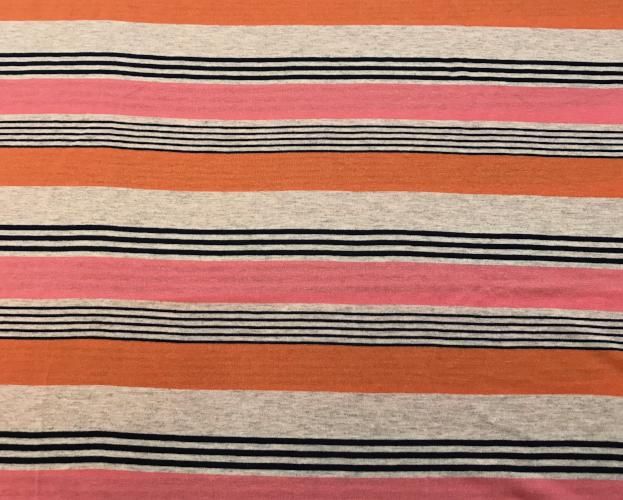 Sunset Stripe Eternity Scarf