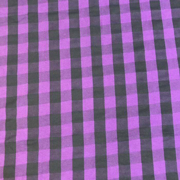 Purple and Black Lumberjack Head Hugger
