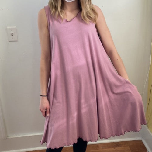 Matilda Dress in Orchid M/L ~ READY TO SHIP