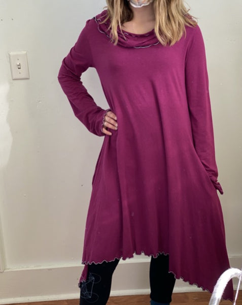 Mia Dress in Fuchsia M/L ~ READY TO SHIP