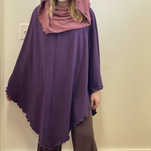 The Wanderer Eggplant/Dusty Rose ~ READY TO SHIP