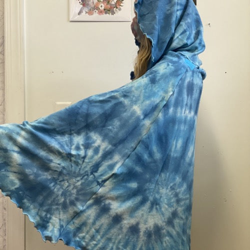 The Wanderer Hand-dyed Blues ~ READY TO SHIP