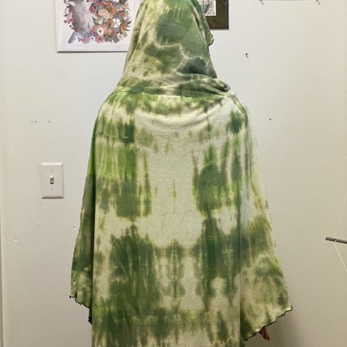 The Wanderer Hand-dyed Greens ~ READY TO SHIP
