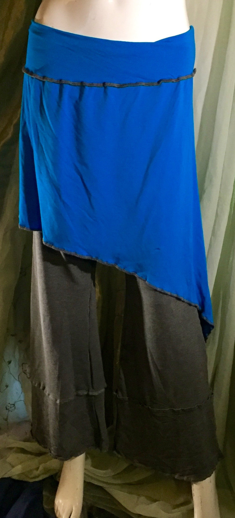 Athena Skirt in Bright Blue - M/L