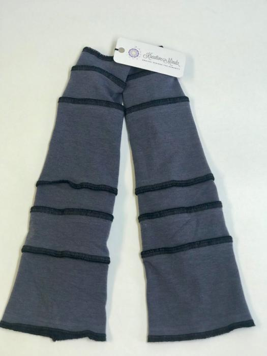 Grey with Black Arm Warmers